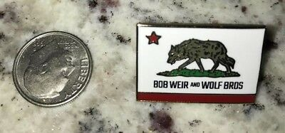Bob Weir and Wolf Bros Enamel Pin Grateful Dead Not Poster New York Bobby & The