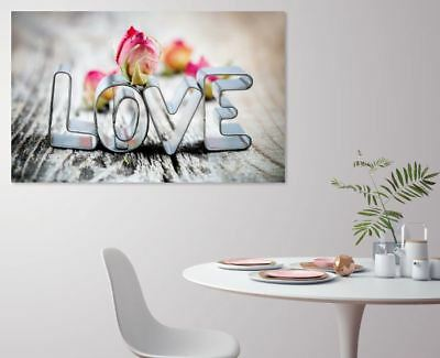 Love Quotes art Home decor High quality Canvas print choose size