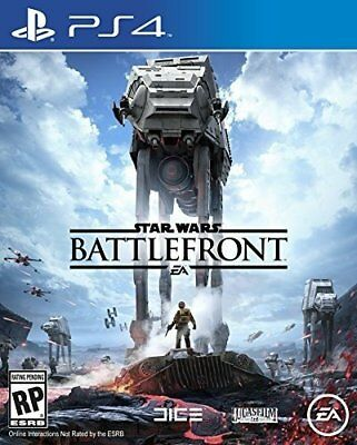 Star Wars Battlefront (Sony Playstation 4, PS4) - DISC ONLY