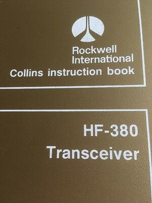 Collins Instruction Book Transceiver HF-380