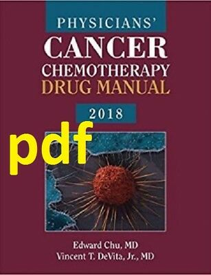 (PDF) Physicians' Cancer Chemotherapy Drug Manual 2018 18th Edition EB00K  !