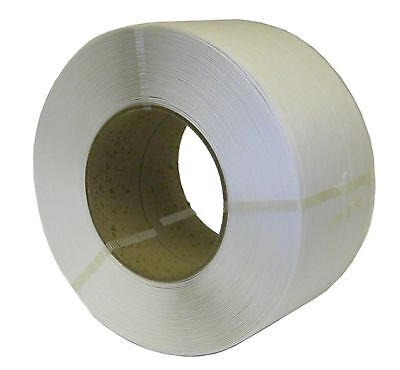 Machine Pallet Strapping White Coil 12mm x 0.55mm x 3000M