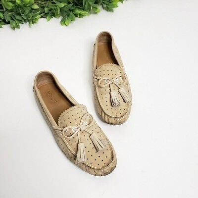 11696f9ed6ebf COACH NADIA DRIVING Leather Loafers, Women's Size 8 - $18.99   PicClick