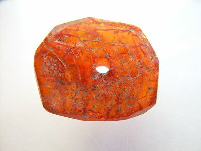 1 Ancient Roman Amber Bead, Romans VERY RARE!  TOP!