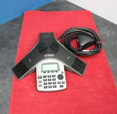 Polycom SoundStation Duo Conference VoIP Phone w/Power interface# 2215-19050-001
