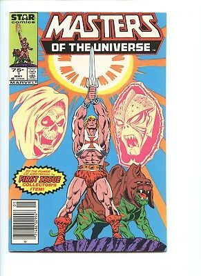 Masters Of The Universe #1 Marvel/Star Comics, May 1986 , He-Man on cover