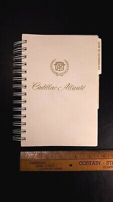 1987 CADILLAC Allante - Original Owners Manual - French Language (CDN)