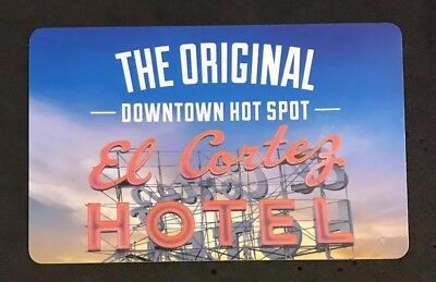 El Cortez Hotel and Casino Room Key Fremont St., Las Vegas, NV (#A1)