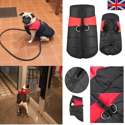 SMALL to EXTRA LARGE Pet Dog Waterproof Warm Winter Ski Coat jacket clothes N