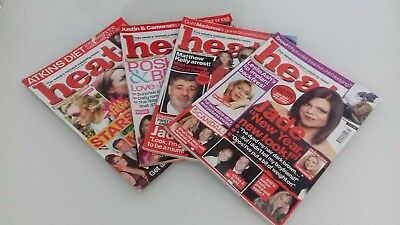 Bundle 4 Heat Magazines issues 237,226,203 and 202  All in Good Condition