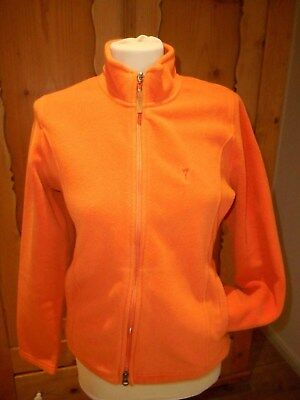 Golfino Sport Damen Fleecejacke Jacke Gr 40 orange