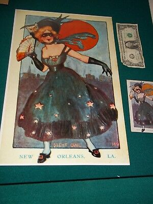 Antique New Orleans Louisiana Postcard 111 Years Old Enlarged To 11 X 17 Go