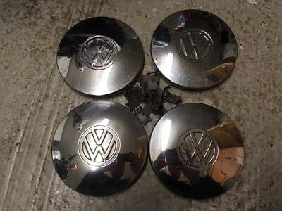 4 Enjoliveurs de jante chromés VW Golf 1 passat scirocco jetta