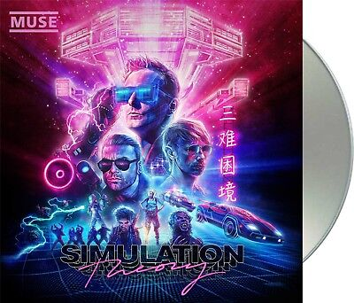 "Muse ""simulation theory"" CD NEU Album 2018"