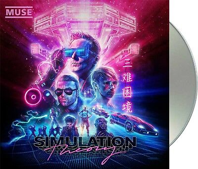 "Muse ""simulation theory"" Deluxe Edition CD 5 Bonus-Tracks NEU Album 2018"