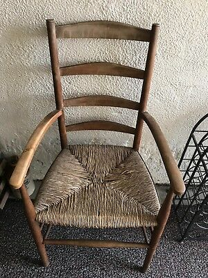 Antique Rushed Chair