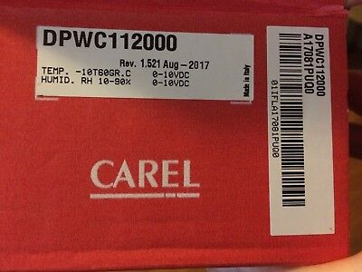 Carel Temperature And Humidity Wall Mounted Sensor-DPWC112000