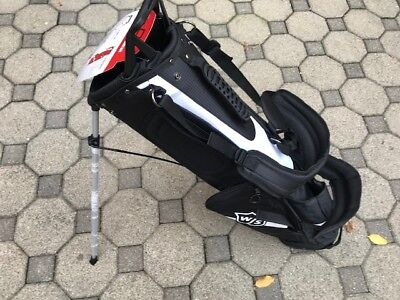 Wilson Staff  XLIGHT QUIVER CARRY BAG Golf Tasche Schwarz NEU