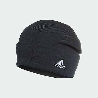 🔥 adidas Men's Soccer Real Madrid Beanie Blue Tech Onix & White One Size NWT