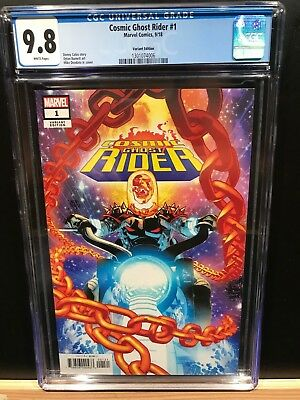 Marvel Cosmic Ghost Rider #1 Cgc 9.8 Rare Deodato Variant! Key Book!! Sold Out