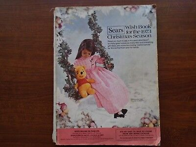 1973 Sears Wish Book Vintage Christmas Catalog Games Toys Barbie 614 pages