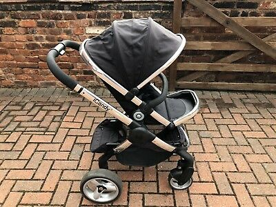 iCandy Peach 2 In Black Magic Push Chair / Stroller And Carry Cot.