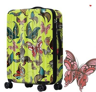 D201 Classical Style Universal Wheel ABS+PC Travel Suitcase Luggage 28 Inches W