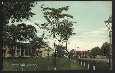 SINGAPORE postcard Selegie Road Straits Settlements
