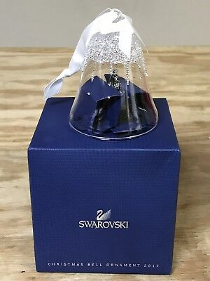 Swarovski Christmas Bell Ornament, Annual Edition 2017 -5241593 New