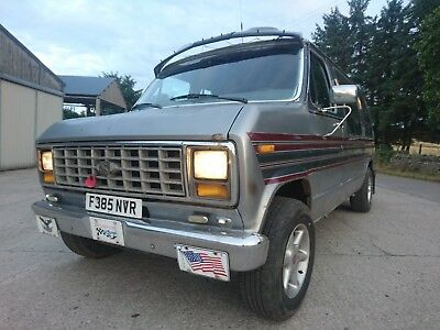 Ford Econoline E150 Dayvan / Camper With Vw / Volvo Engine 2.4 6 Cyl Diesel