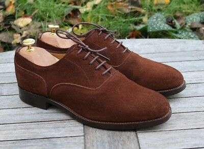 Alfred Sargent 'San Diego' Brown Suede Oxford Men's Shoes UK 7 F