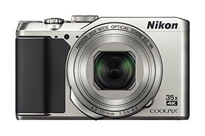 Nikon COOLPIX A900 Wi-Fi 20MP 4K Digital Camera Japan Model New Silver