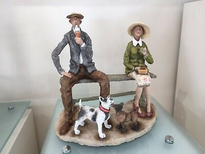 Grant Palmer Sculpture - Love is in the Air Limited Edition - nostalgic