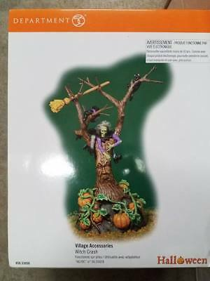 Dept 56 Halloween WITCH CRASH accessory, #56.53056, RETIRED
