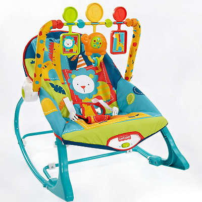 Baby Bouncing Chair Infant Toddler Bouncy Seat Swing Rocker Sleeper & Vibrator