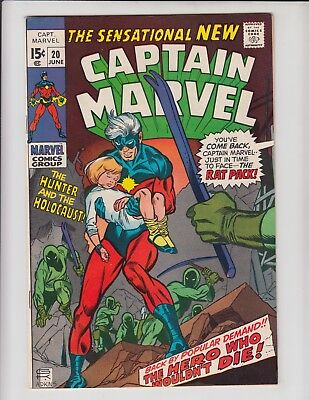 Captain Marvel #20 Fn+