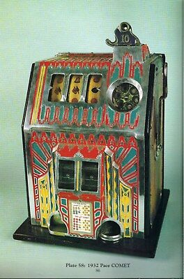 SLOT MACHINES ON PARADE, Geddes1st Ed, Full-Color Photos HISTORY/REF 1890s-1960s
