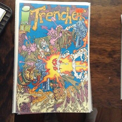 TRENCHER #1 (1993) VF/NM - Image Comics
