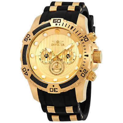 Invicta Star Wars Chronograph Gold Dial Men's Watch 26179