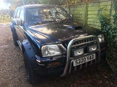 Mitsubishi L200 Spares Or Repairs