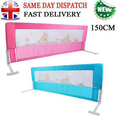 150cm Child Toddler infant Bed Rail Safety Protection Guard Folding Bedrail UK