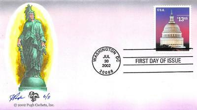 3648 $13.65 Express Mail, Pugh H/P Hand Painted, 11 produced [E425794]
