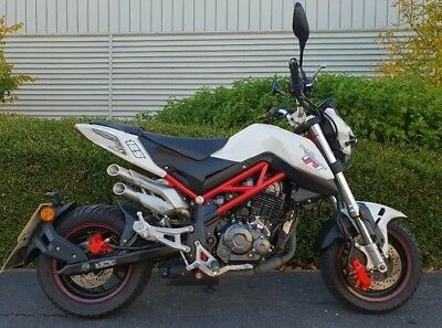Benelli Tnt Tornado 125 Naked Learner Legal Grom Beater * No Reserve Auction