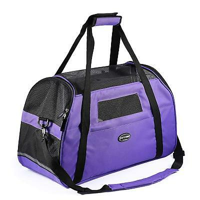 Jespet Luxury Soft Sided Dog Carrier for Dogs, Cats, Puppy Airline Approved