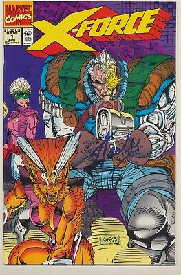 X-force #1 (Aug 1991, Marvel) signed by Stan Lee w/COA