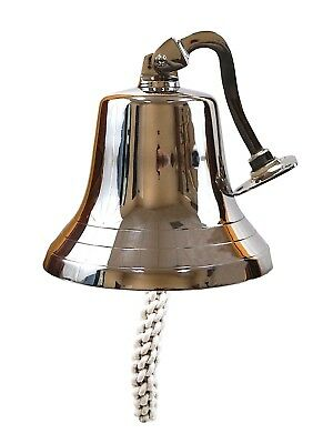 Large Ships Bell - Solid Brass w/Mounting Bracket