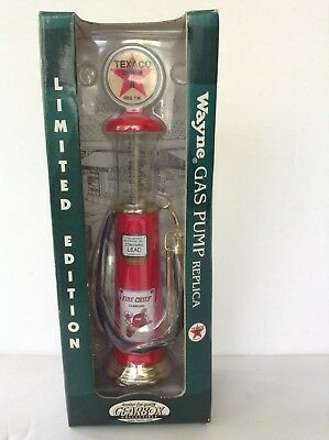 Die cast Gearbox collectible Wayne Gravity Texaco Gas Pump 1930 Replica