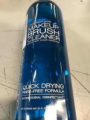 Cinema Secrets Professional Make-up Brush Cleaner No Rinse/Quick Dry 32oz.  >