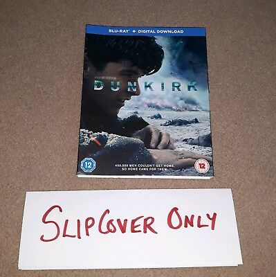 Dunkirk Slipcover Only ***NO DISCS or CASE*** Tom Hardy Christopher Nolan