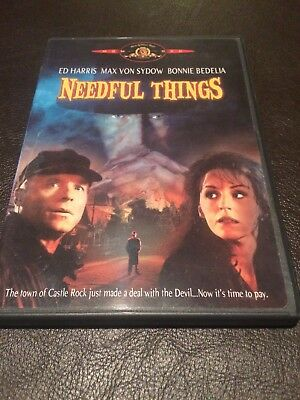 USA Dvd Region 1 Stephen King NEEDFUL THINGS dvd US